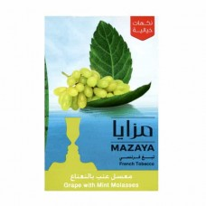 Тютюн Mazaya Grape with Mint (Виноград c М'ятою) - 50 грам