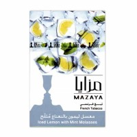 Табак Mazaya Iced Lemon Mint (Лед Лимон Мята) - 50 грамм