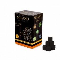 Coconut coal Milano Gold 1kg (72 pcs)
