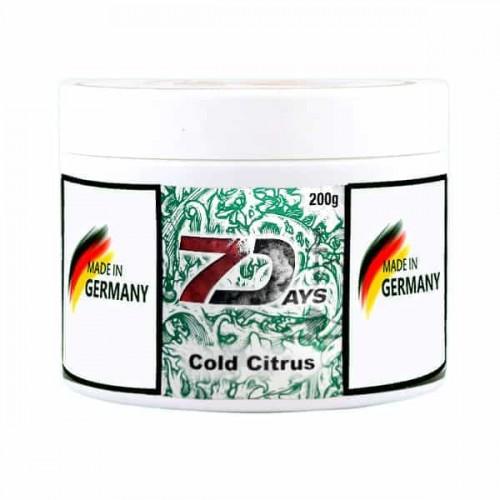 Табак 7Days Cold Citrus (Холодный Цитрус) - 200 грамм