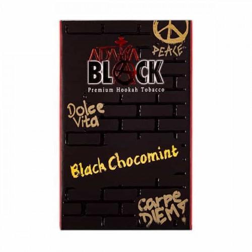 Тютюн Adalya Black Black Chocomint (чорний Шоколад М'ята) - 50 грам