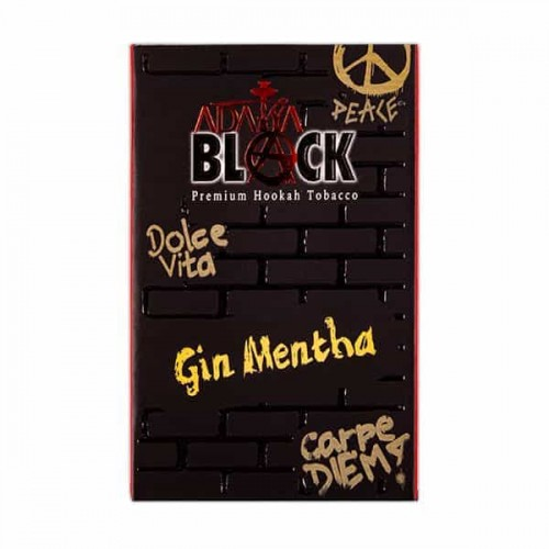 Табак Adalya Black Gin Mentha (Джин с Мятой) - 50 грамм