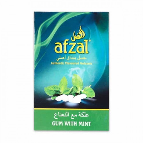 Табак Afzal Жвачка с Мятой - 50 грамм