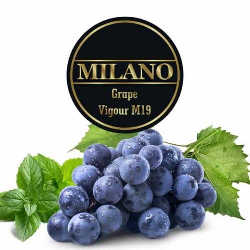 Табак Milano Grape Vigour M19 (Виноград Мята) - 100 грамм
