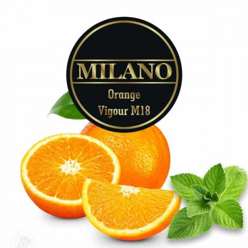 Табак Milano Orange Vigour M18 (Апельсин Мята) - 500 грамм