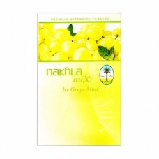 Тютюн Nakhla Mix Ice Grape Mint (Лід Виноград М'ята) - 50 грам