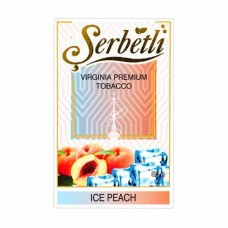 Табак Serbetli Ice Peach (Лед Персик) - 50 грамм