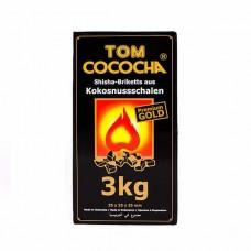 Уголь кокосовый Tom Cococha Gold 3кг