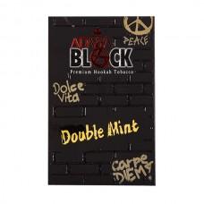 Табак Adalya Black Double Mint (Двойная Мята) - 50 грамм