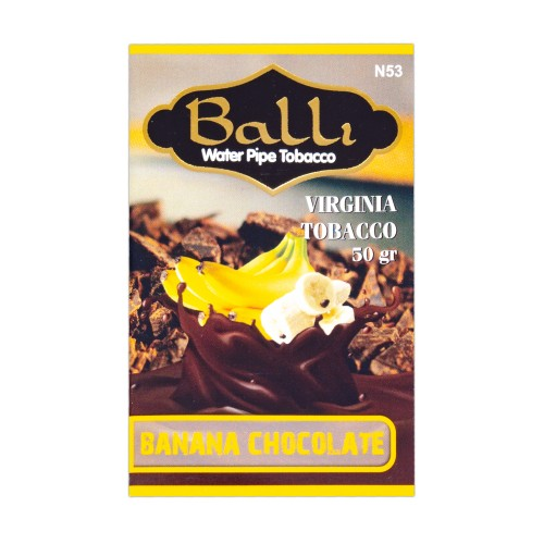 Табак Balli Banana Chocolate (Банан Шоколад) - 50 грамм