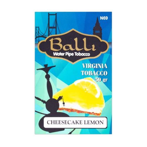 Табак Balli Cheesecake Lemon (Пирог Лимон) - 50 грамм