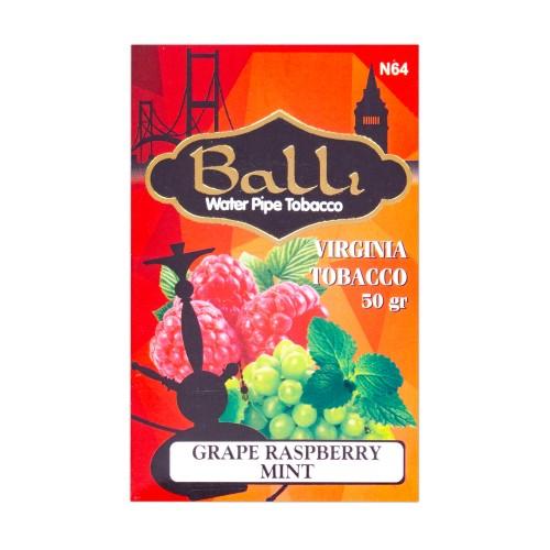 Табак Balli Grape Raspberry Mint (Виноград Малина Мята) - 50 грамм