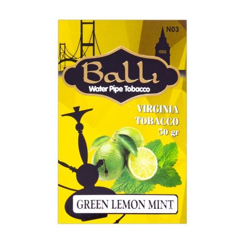 Табак Balli Green Lemon Mint (Зеленый Лимон Мята) - 50 грамм