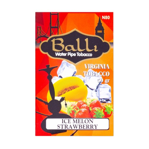 Табак Balli Ice Melon Strawberry (Лед Дыня Клубника) - 50 грамм