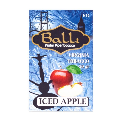 Табак Balli Iced Apple (Лед Яблоко) - 50 грамм