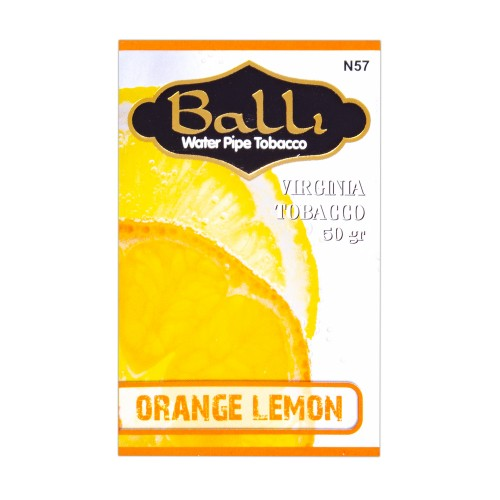 Табак Balli Orange Lemon (Апельсин Лимон) - 50 грамм