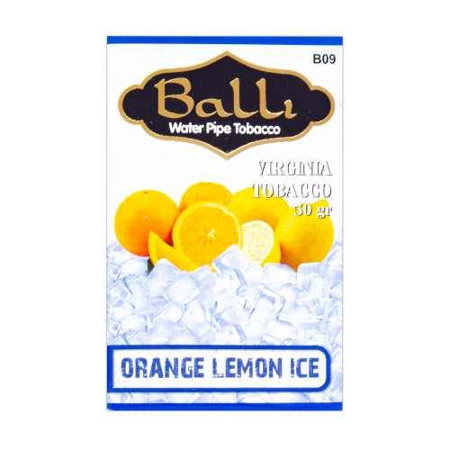 Табак Balli Orange Lemon Ice (Апельсин Лимон Лед) - 50 грамм