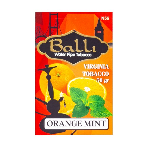 Тютюн Balli Orange Mint (Апельсин М'ята) - 50 грам
