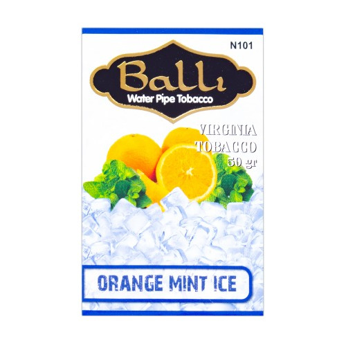 Табак Balli Orange Mint Ice (Апельсин Мята Лед) - 50 грамм