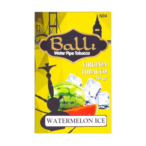 Табак Balli Watermelon Ice (Арбуз Лед) - 50 грамм