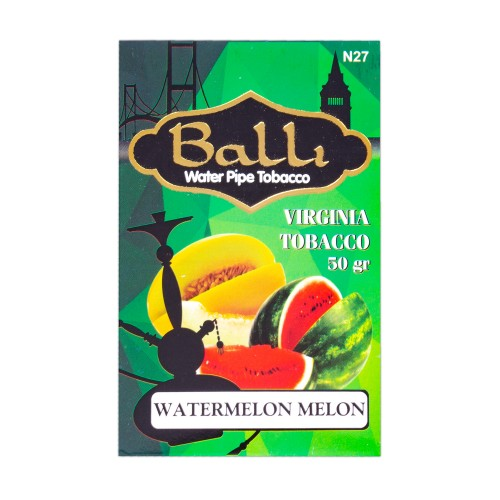 Тютюн Balli Watermelon Melon (Кавун Диня) - 50 грам