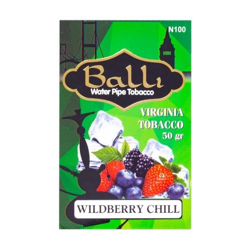 Табак Balli Wildberry Chill (Ягодный Чилл) - 50 грамм