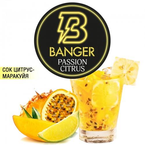 Табак Banger Passion Citrus (Маракуйя Цитрус) - 100 грамм