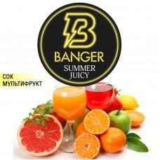 Табак Banger Summer Juicy (Летний Сок) - 100 грамм