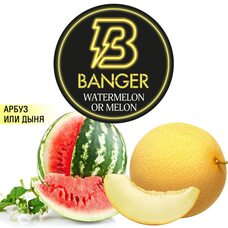 Табак Banger Watermelon or Melon (Арбуз Дыня) - 100 грамм