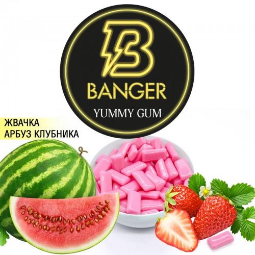 Табак Banger Yummy Gum (Сладкая Жвачка) - 100 грамм