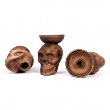 Bowl for hookah Loft Skull (clay)