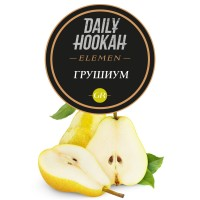 Табак Daily Hookah Element Gr Грушиум - 250 грамм