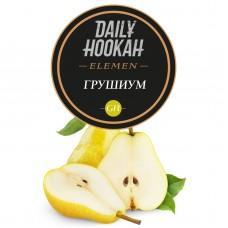 Табак Daily Hookah Element Gr Грушиум - 60 грамм