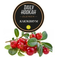 Табак Daily Hookah Element Kl Клюквиум - 60 грамм