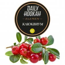 Табак Daily Hookah Element Kl Клюквиум - 60 грамм