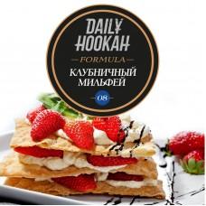 Табак Daily Hookah Formula 08 Клубничный Мильфей - 60 грамм