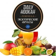 Табак Daily Hookah Formula 22 Экзотические Фрукты - 60 грамм