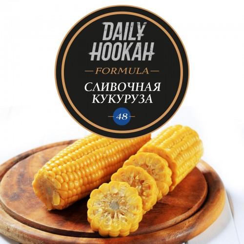 Табак Daily Hookah Formula 48 Сливочная Кукуруза - 60 грамм