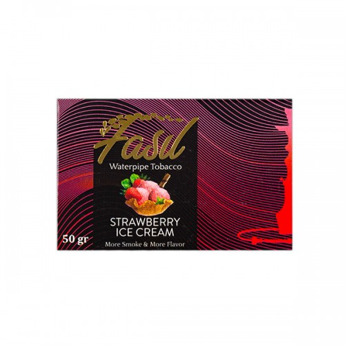 Табак Fasil Strawberry Ice Cream (Клубничное Мороженое) - 50 грамм