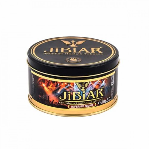 Табак Jibiar Inferno Night (Адская Ночь) - 500 грамм