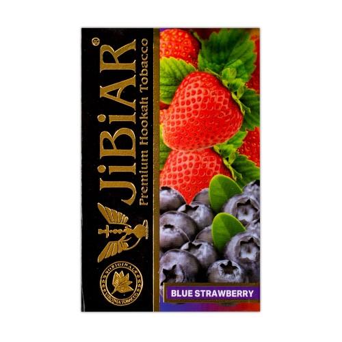 Тютюн Jibiar Blue Strawberry (Блакитна Полуниця) - 50 грам