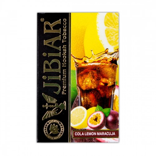 Табак Jibiar Cola Lemon Maracuja (Кола Лимон Маракуйя) - 50 грамм