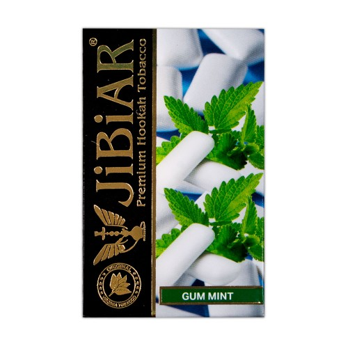 Тютюн Jibiar Gum Mint (Жуйка М'ята) - 50 грам