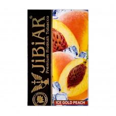 Табак Jibiar Ice Gold Peach (Лед Золотой Персик) - 50 грамм