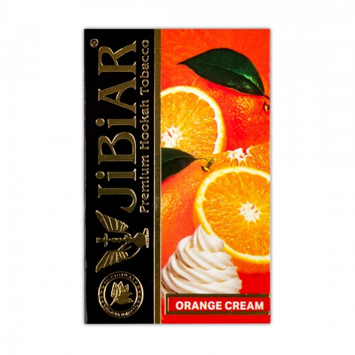 Табак Jibiar Orange Cream (Апельсин Крем) - 50 грамм