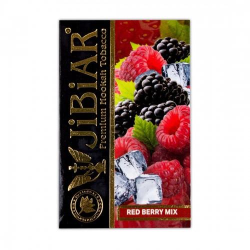 Табак Jibiar Red Berry Mix (Красный Ягодный Микс) - 50 грамм