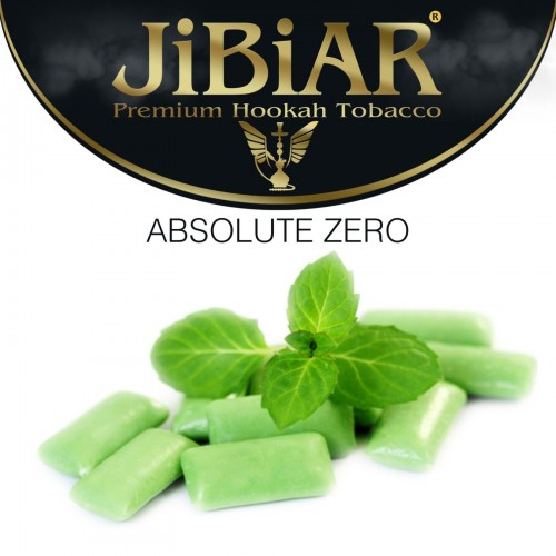 Табак Jibiar Absolute Zero (Абсолютный Ноль) - 100 грамм