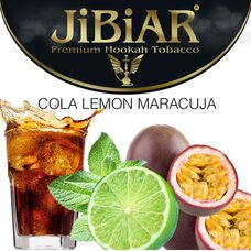 Табак Jibiar Cola Lemon Maracuja (Кола Лимон Маракуйя) - 100 грамм