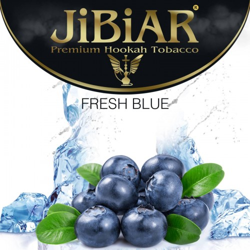 Табак Jibiar Fresh Blue (Свежий Синий) - 100 грамм
