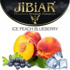 Табак Jibiar Ice Peach Blueberry (Лед Персик Черника) - 100 грамм